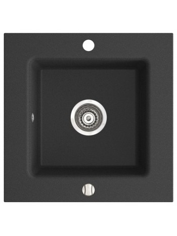 KIZZ chiuveta granit cu o cuva 50x50 cm grafit -DRG50/50B -FERRO -Chiuvete granit -669,99RON -