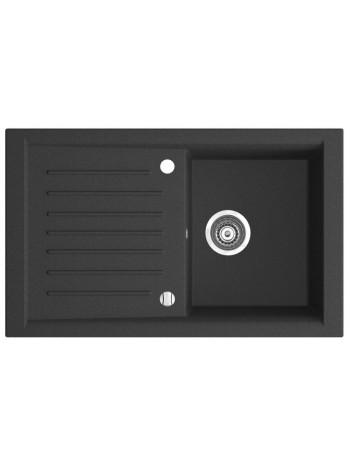 KIZZ chiuveta granit cu o cuva 81x50 cm grafit -DRG50/81B -FERRO -Chiuvete granit -699,99RON -