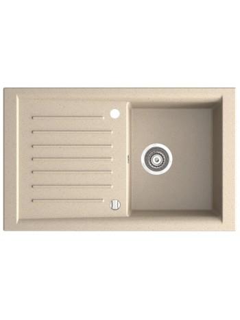 KIZZ chiuveta bucatarie cu o cuva 81x50 cm nisip -DRG50/81S -FERRO -Chiuvete granit -699,99RON -