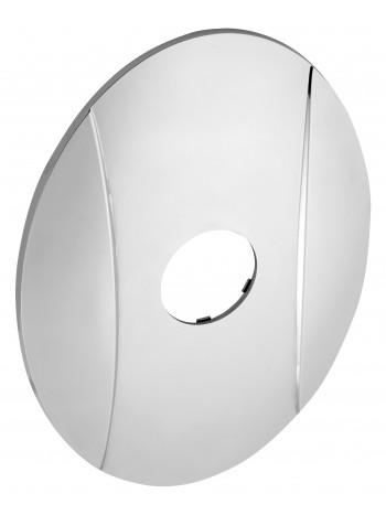 Ornament exterior oval cu un orificiu -KRYT0050A -FERRO -Ornamente exterior -44,98RON -