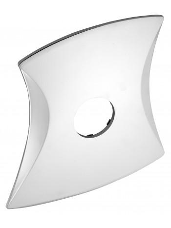 Ornament exterior eliptic cu un orificiu -KRYT0050D -FERRO -Ornamente exterior -44,98RON -