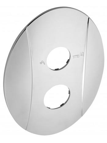 Ornament exterior oval cu doua orificii -KRYT0050RA -FERRO -Ornamente exterior -54,99RON -