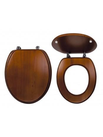 Capac WC Lemn de stejar inchis -WC/DUB2 -FERRO -Capace WC -99,99RON -