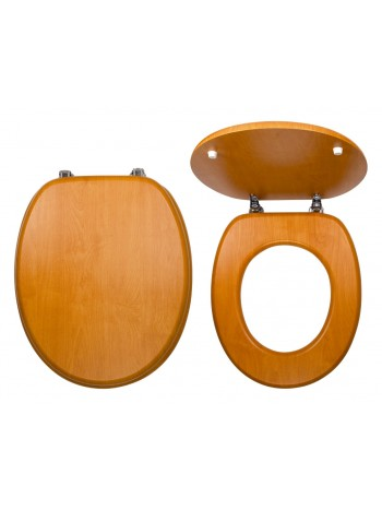 Capac WC Lemn de nuc deschis -WC/ORECH -FERRO -Capace WC -99,99RON -