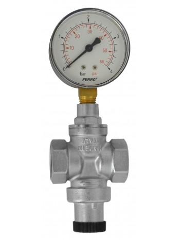 Reductor de presiune – standard 3/4 fara manometru -RC20S -FERRO -Elemente de siguranta si reglaj -79,99RON -