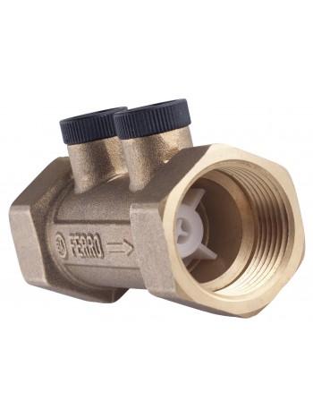 Clapeta antiretur cu posibilitate de masurare 1 -ZZA03 -FERRO -Elemente de siguranta si reglaj -39,99RON -