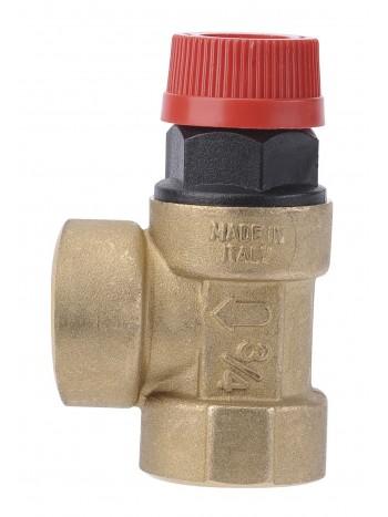 Supapa siguranta pentru instalatie C.O. cu apa calda 1/2x1/2 6 BAR -Z1560 -FERRO -Elemente de siguranta si reglaj -19,99RON -