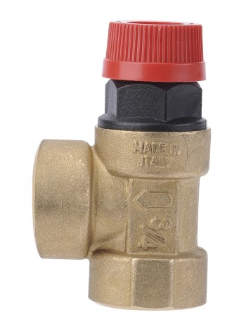 Supapa siguranta pentru instalatie C.O. cu apa calda 1/2x1/2 2,5 BAR -Z1525 -FERRO -Elemente de siguranta si reglaj -19,99RON -