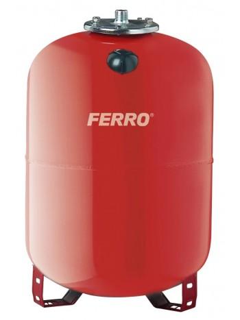 Vas de expansiune 100L pentru apa calda montaj pe pardoseala cu racord 1 -CO100S -FERRO -Vase de expansiune pentru instalatii...