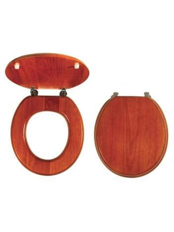 Capac WC Lemn de stejar -WC/DUBLYRA -FERRO -Capace WC -139,99RON -