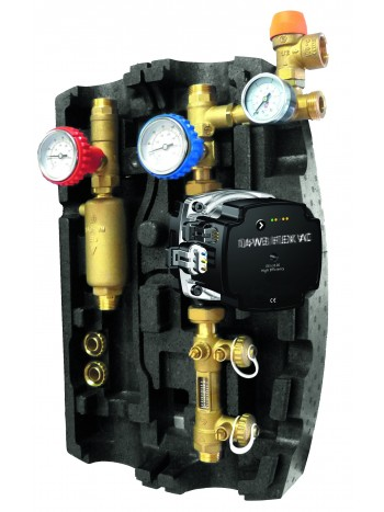 Grup solar 3/4 cu pompa electronica de 0.5-15 l/min -GSOL8 -FERRO -Robineti pentru instalatii solare -1,499.00 -