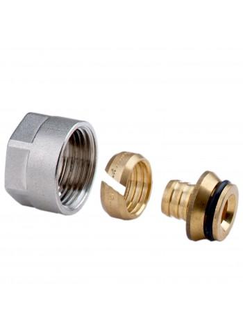 Racord imbinare cu filet 3/4 pentru tevi material sintetic 16x2 mm model TP 98 -67841612Y -FERRO -Racorduri pentru tevi multi...