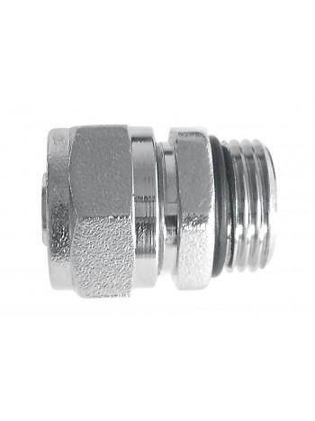 Racord imbinare pentru tevi cupru 15x1/2 cu O-ring -ZL1501C -FERRO -Racorduri pentru tevi multistratificate -5,49RON -
