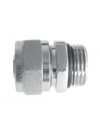 Racord imbinare1/2 pentru tevi multistratificate16x2mm cu O-ring, crom -ZL1601C -FERRO -Racorduri pentru tevi multistratifica...