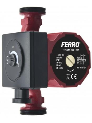Pompa circulatie clasa A GPA II 25-40 180 -0601W -FERRO -Pompe de circulatie clasa A -399,99RON -