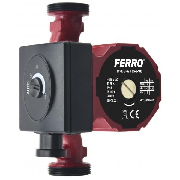 Pompa circulatie clasa A GPA II 25-60 180 -0602W -FERRO -Pompe de circulatie clasa A -429,99RON -