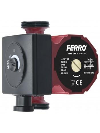 Pompa circulatie clasa A GPA II 25-40 130 -0603W -FERRO -Pompe de circulatie clasa A -399,99RON -