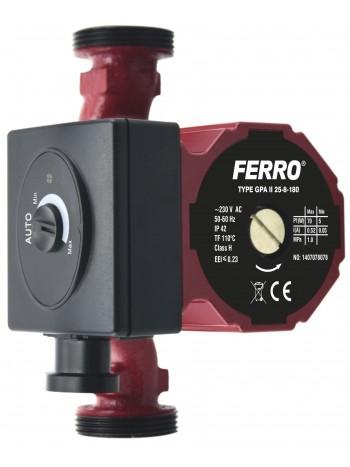Pompa circulatie clasa A GPA II 25-8-180 -0605W -FERRO -Pompe de circulatie clasa A -599,99RON -