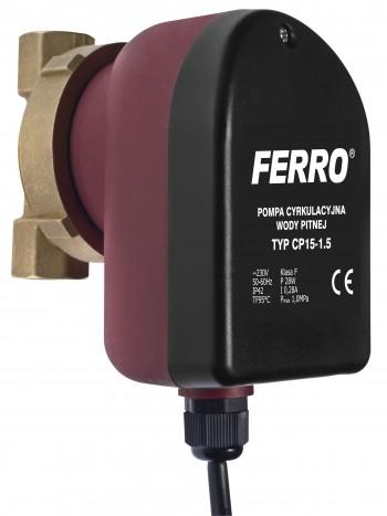 Pompa circulatie C.W.U. tip CP 15-1.5 -0101W -FERRO -Pompe de circulatie pentru apa rece -299,99RON -