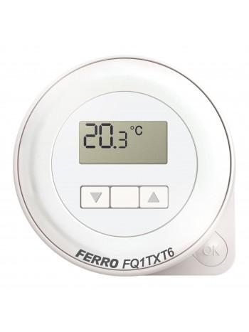 Termostat electronic zilnic fara fir -FQ1TXT6 -FERRO -Termostate electronice zilnic -349,99RON -