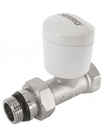 Robinet tur drept cu posibilitate montaj cap termostatic 1/2x1/2 -ZTI2Y -FERRO -Robineti termostatici -32,99RON -