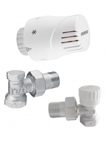 Set termostatic coltar 1/2 -ZTM02 -FERRO -Seturi termostatice -69,99RON -