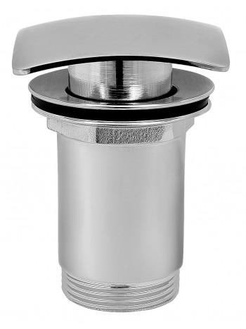 Ventil click-clack cu preaplin - Quadro inchis G 1 1/4 pentru scurgere baie, crom -S284 -FERRO -Ventile scurgere -69,99RON -