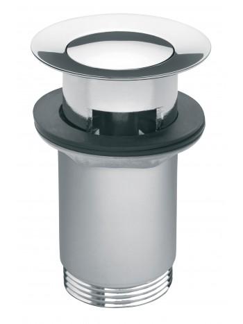 Ventil click-clack cu preapin inchis G 1 1/4 pentru scurgere baie, crom -S283 -FERRO -Ventile scurgere -49,99RON -