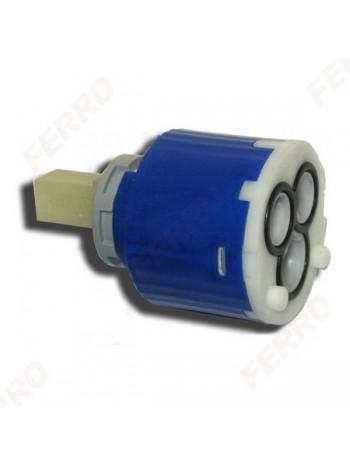 Cartus ceramic cu 2 trepte pentru baterii METALIA 56 40 mm -CA/56000 ECO -FERRO -Cartuse -72,00RON -