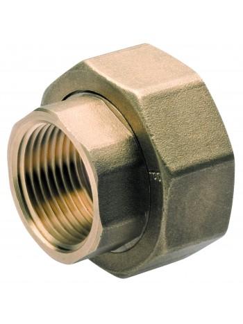 "Racord hollender teava-pompa din alama 6/4""x1"" -SG18 -FERRO -Racorduri hollender teava-pompa -39,99RON -"