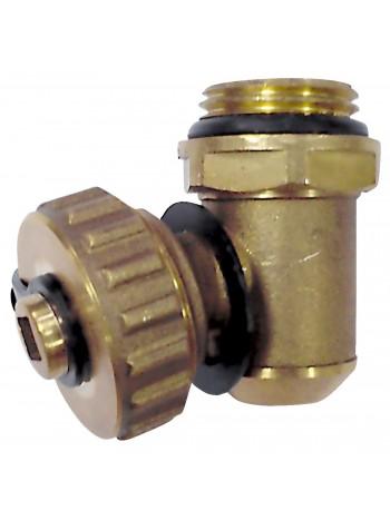 """Robinet de golire 1/2"""" rotativ cu garnitura tip o-ring -ZSR1 -FERRO -Accesorii pentru distribuitoare din alama -13,99RON -"""