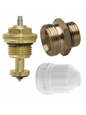 """Set format din ventil de inchidere, rozeta pentru robinet termostatat si niplu 3/4""""x1/2"""" -RKPT -FERRO -Accesorii pentru distr..."""