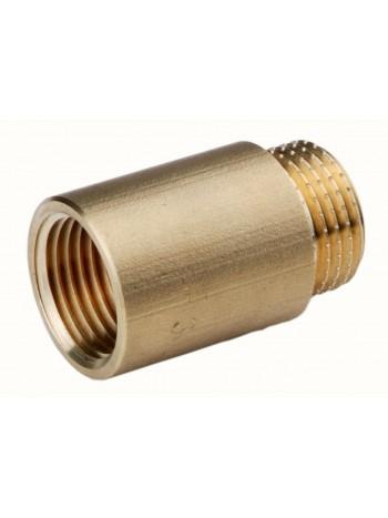 """Prelungitor alam 1/2"""" 40mm -P40Z -FERRO -Fitinguri din alama -6,99RON -"""