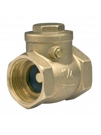"Supapa de retentie cu clapeta alama 1"" -ZZK3 -FERRO -Alte tipuri te robineti pentru apa -26,99RON -"