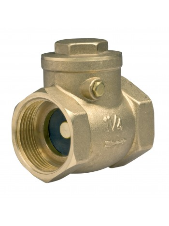"Supapa de retentie cu clapeta alama 5/4"" -ZZK4 -FERRO -Alte tipuri te robineti pentru apa -43,99RON -"