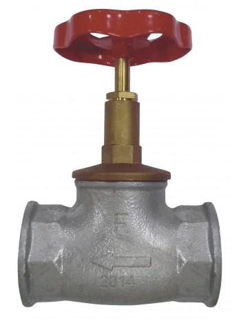 "Robinet de trecere din fonta, cu ventil, cu rozeta de actionare, interior-interior 1"" -ZGZ03 -FERRO -Alte tipuri te robineti ..."