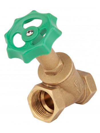 """Robinet de trecere din alama cu ventil interior - interior 1"""" -ZGR03 -FERRO -Alte tipuri te robineti pentru apa -69,99RON -"""