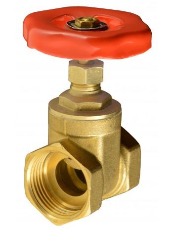 """Robinet de trecere alama, cu sertar pana si roata de manevra 4"""" -Z08 -FERRO -Alte tipuri te robineti pentru apa -399,99RON -"""