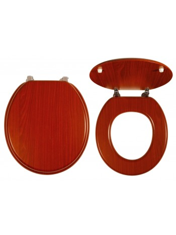 Capac WC Lemn de nuc -WC/ORECHLYRA -FERRO -Capace WC -79,99RON -