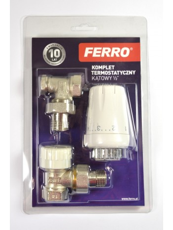 Set termostatic coltar 1/2 -ZTM08 -FERRO -Seturi termostatice -64,99RON -