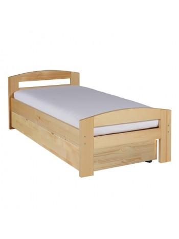 Pat dormitor Serena, cu lada de depozitare, 100×200 cm, culoarea lemnului -LAD-100 - -Paturi si saltele -729,99lei -
