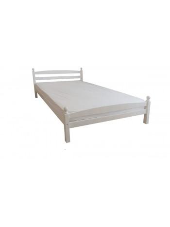 Pat dormitor Bianca, lemn brad, 2 persoana, 140×200 cm Alb -BIW-140 - -Paturi si saltele -500,00RON -