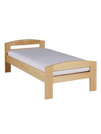 Pat dormitor Serena, lemn brad, 1 persoana ,100×200 cm -LA-100 -Habe WOOD -Paturi si saltele -399,00RON -