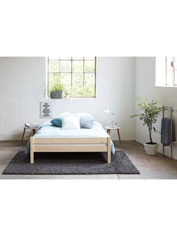 Pat dormitor Luis, lemn brad, 1 persoana ,90×200 cm -SIS-90 - -Paturi si saltele -245,00RON -