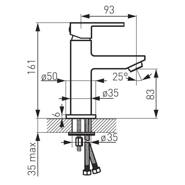 Zicco - baterie stativa lavoar -BZI2 -FERRO -Zicco -203,99lei -product_reduction_percent
