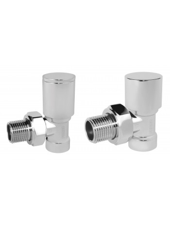 "Set robineti tur/retur radiator coltari 1/2"", crom -ZGB31CR -FERRO -Seturi termostatice -71,99lei -product_reduction_percent"