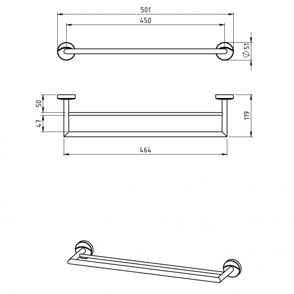 Portprosop dublu 450 Metalia 11 -0124.0 -FERRO -Metalia 11 -224,99lei -product_reduction_percent