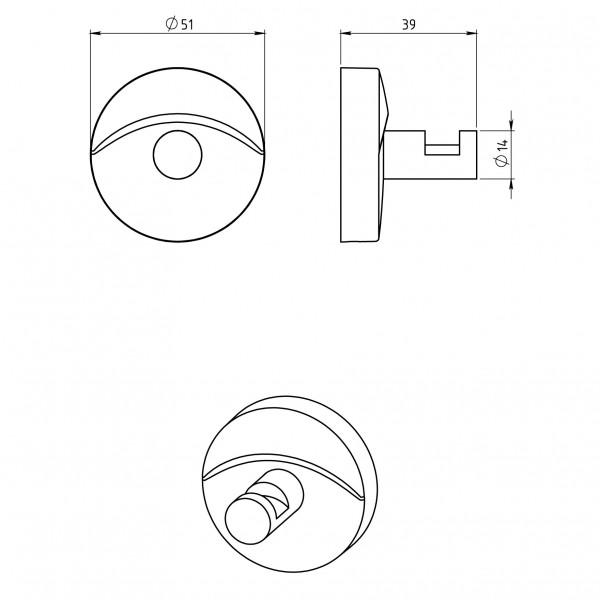 Agatatoare Metalia 11 -0109.0 -FERRO -Metalia 11 -62,49lei -product_reduction_percent