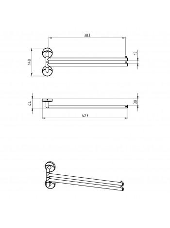 Portprosop dublu Metalia 11 -0129.0 -FERRO -Metalia 11 -289,99lei -product_reduction_percent