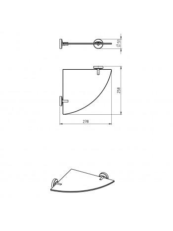 Polita de colt Metalia 11 -0135.0 -FERRO -Metalia 11 -199,99lei -product_reduction_percent